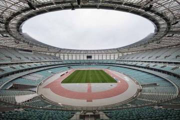 UEFA gives highest score to the Baku Olympic Stadium