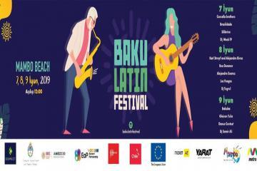 В Баку пройдет Латинский фестиваль