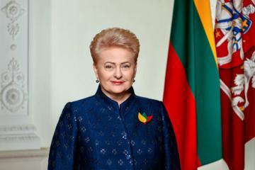 Litva prezidenti Azərbaycan Prezidenti İlham Əliyevi təbrik edib