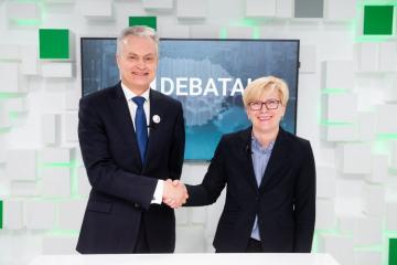 Litvada prezident seçkilərinin 2-ci turu başa çatıb