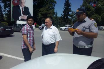 Дорожная полиция провела рейды в Мингячевире, оштрафовано много водителей  - [color=red]ФОТО[/color]