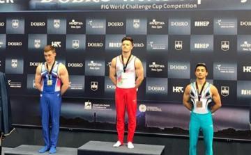 Azərbaycan gimnastı Dünya Kubokunun qalibi olub