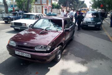 В Хачмазе машина сбила пешехода - [color=red]ВИДЕО[/color]