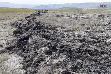 В Шамахы произошло извержение вулкана