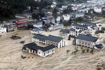 В Китае семь человек погибли из-за наводнений