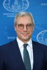Russian diplomat, German ambassador discuss Moscow's relations with NATO, EU