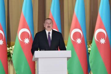 """Prezident: """"İndi Azərbaycan neft və qaz ixrac edən ölkələr arasında layiqli yer tutur"""""""