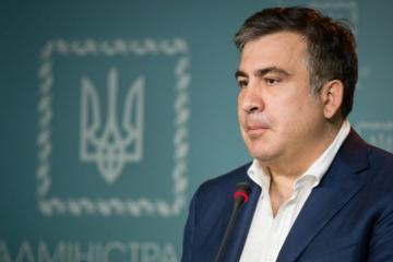 Saakashvili says he has no political ambitions