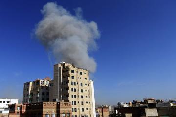Арабская коалиция нанесла удары по столице Йемена
