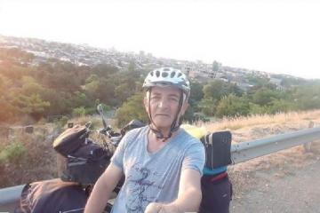Mingəçevir sakini velosipedlə dünya turuna çıxıb