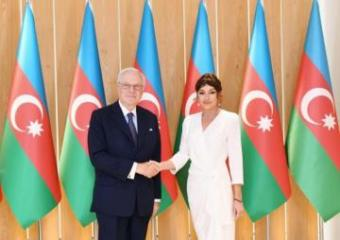 First Vice-President of Azerbaijan meets with head of Rothschild Global Financial Advisory