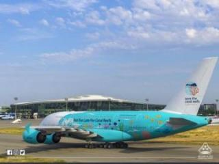 UEFA delegation arrives in Baku on the world's largest passenger aircraft - [color=red]PHOTO[/color]