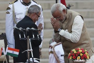 Modi sworn in for second term as India's prime minister