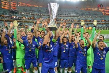 [color=red]Europa League final: [/color] Chelsea beats Arsenal 4-1 to win Europa League final in Baku Olympic Stadium