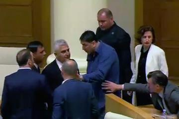 Physical confrontation occurred among deputies in Georgian Parliamentary