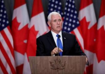 Pence says Canada must work with U.S. on Cuba and Venezuela