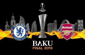 В Баку наградили победителя Лиги Европы