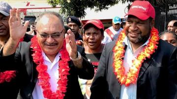 Papua New Guinea chooses James Marape as new prime minister