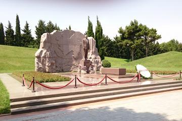 Президент Польши посетил могилу Гейдара Алиева