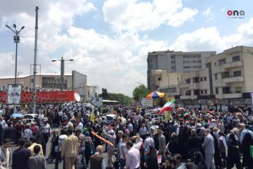 İranda Ümumdünya Qüds günü ilə bağlı ənənəvi yürüş keçirilir