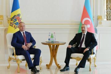 Президент Молдовы поздравил Президента Азербайджана