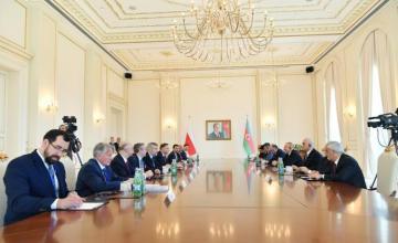 Состоялась встреча президентов Азербайджана и Польши в расширенном составе - [color=red]ОБНОВЛЕНО[/color]