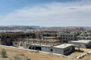 Abşeron rayon Mərkəzi Xəstəxanası üçün yeni bina tikilir - [color=red]FOTO[/color]