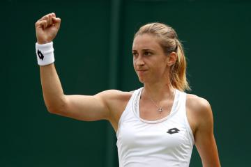 Croatia's Martic ousts World's No. 2 Pliskova from French Open with straight sets win