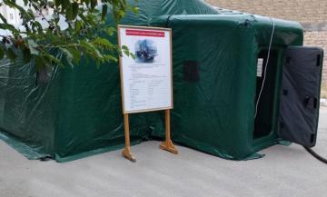 Проведено учение мобильного санитарно-эпидемиологического отряда