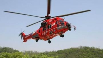 Вертолет Южной Кореи разбился в Японском море