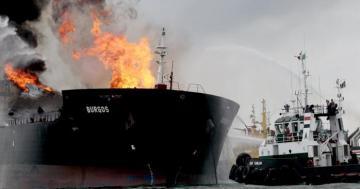 В России на танкере прогремел взрыв, есть погибшие