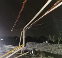 Восемь жилых зданий в поселке Бакиханова остались без газа из-за ветра  - [color=red]ФОТО[/color]