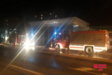 Fire at fuel station in Sumgayit extinguished - [color=red]PHOTO[/color]