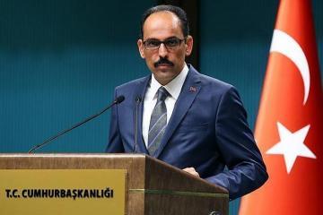 """Türkiyə prezidentinin sözçüsü: """"Barış bulağı"""" əməliyyatı bir terror dövləti qurmaq planını alt-üst edib"""""""