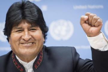 Evo Morales safe after helicopter makes emergency landing
