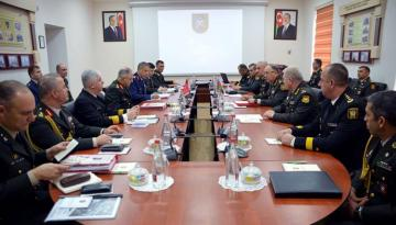 12th meeting of the Azerbaijan-Turkey High-Level Military Dialogue being held in Baku