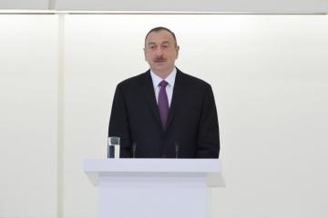 Президент: Под лидерством Азербайджана успешно реализуются энергетические проекты регионального и глобального масштаба