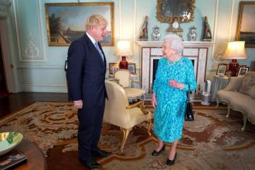 British PM Johnson meets Queen Elizabeth, formally marking start of election campaign