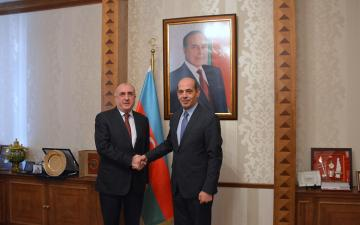 Azerbaijani FM receives newly appointed Jordanian Ambassador to Azerbaijan