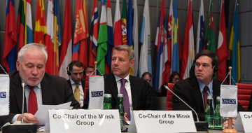 Co-Chairs submitted report to OSCE Permanent Council