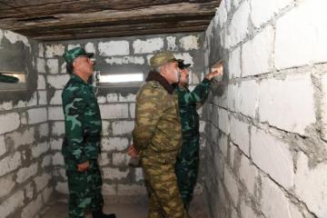 Начальник ГПС и военный прокурор совершили поездку в Газах
