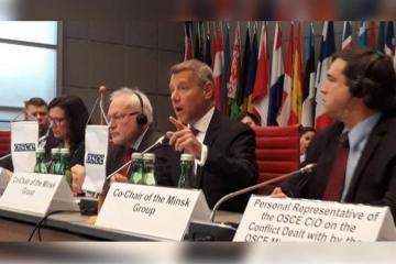 "French co-Chair of the OSCE MG: ""Co-Chairs are not mandated to coercively impose a solution on the parties"""