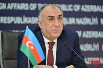 """Elmar Mammadyarov: """"No regional economic cooperation is possible ifillegal activities in the occupied territories not removed"""""""