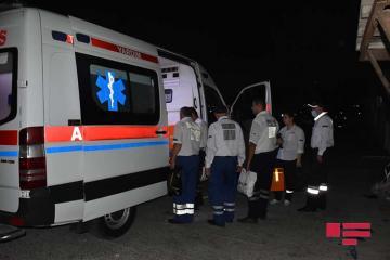 89-летний мужчина с 63-летней дочерью пострадали при ДТП в Баку