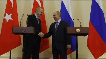 Turkish, Russian presidents discuss Syria over phone