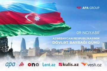 Azərbaycanda Dövlət Bayrağı günüdür