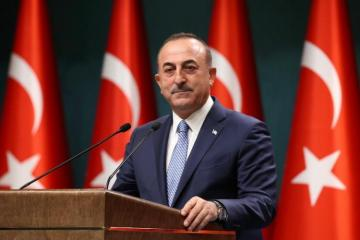 Head of Turkish MFA congratulates Azerbaijan on the occasion of National Flag Day