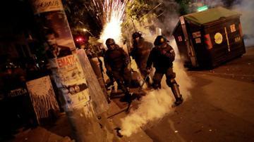В Боливии некоторые из полицейских присоединились к протестам