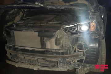 Goranboyda iki minik avtomobili toqquşub, 4 nəfər ağır yaralanıb - [color=red]YENİLƏNİB-`[/color] - [color=red]FOTO[/color]