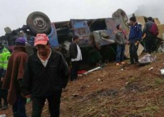 В Перу в жутком ДТП погибли 15 человек